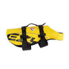Yellow - EzyDog Dog Flotation Vest Side