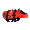 Red - EzyDog Dog Flotation Vest Forward