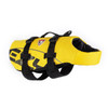 Yellow - EzyDog Dog Flotation Vest Side Forward