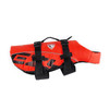 Red - EzyDog Dog Flotation Vest Side