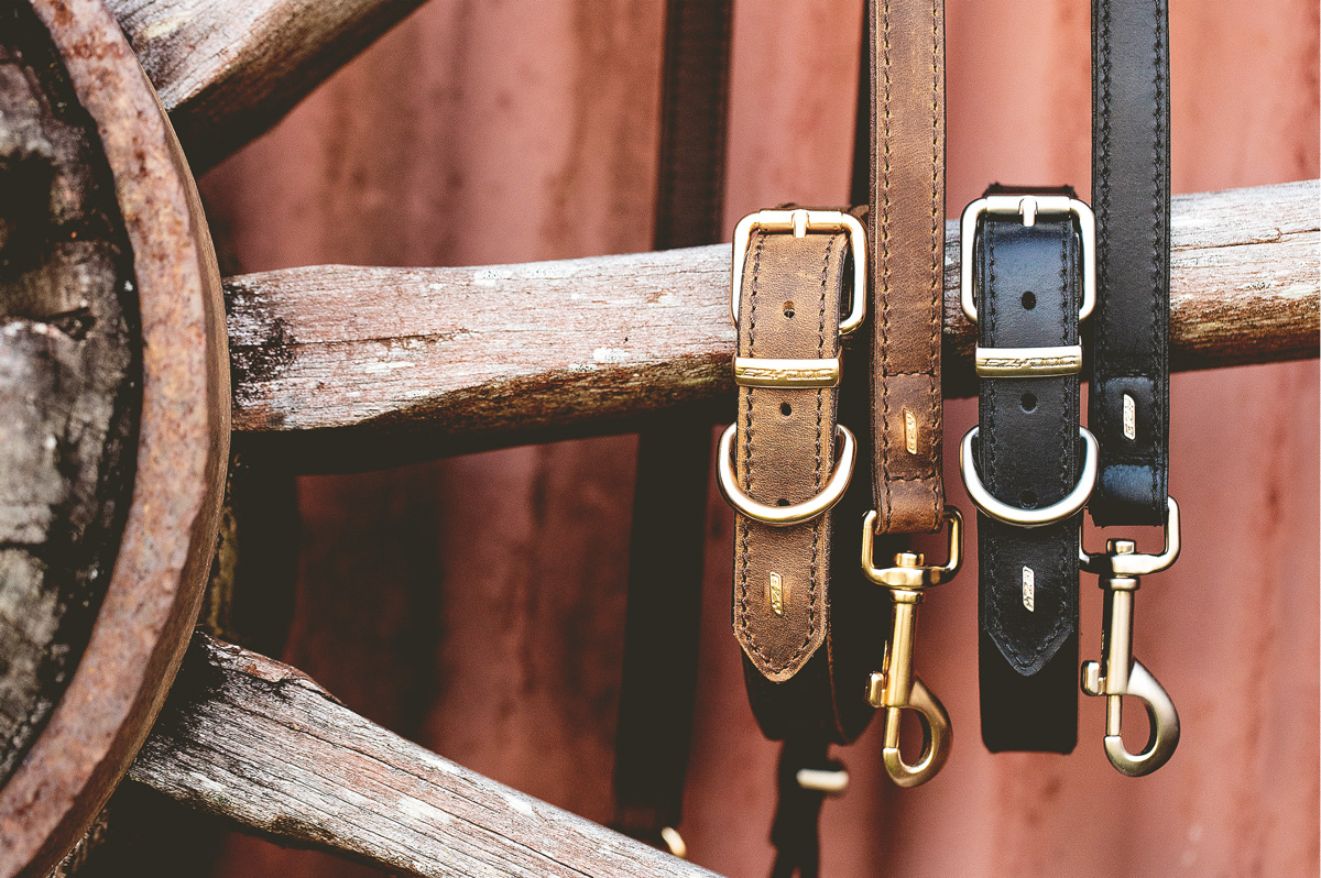 Oxford Leather Collars From EzyDog