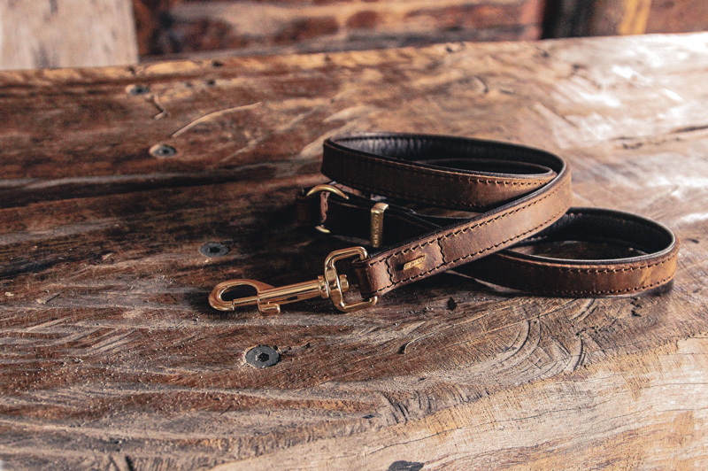 Oxford Leather Leashes From EzyDog