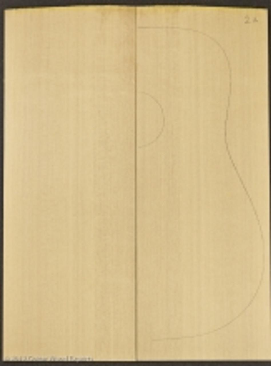 2A Sitka Spruce Sound Board