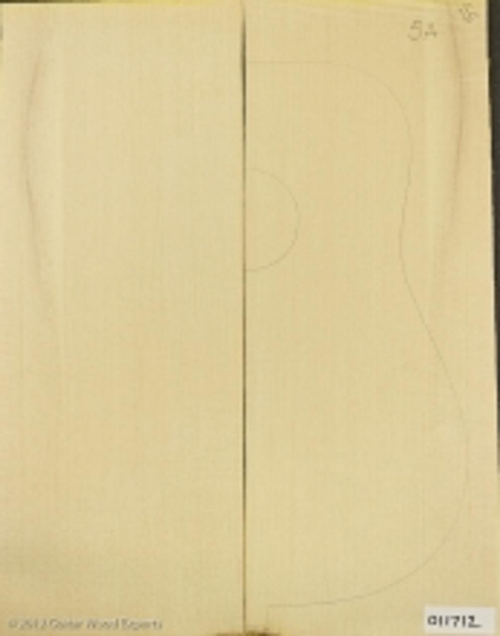 5A Sitka Spruce Sound board