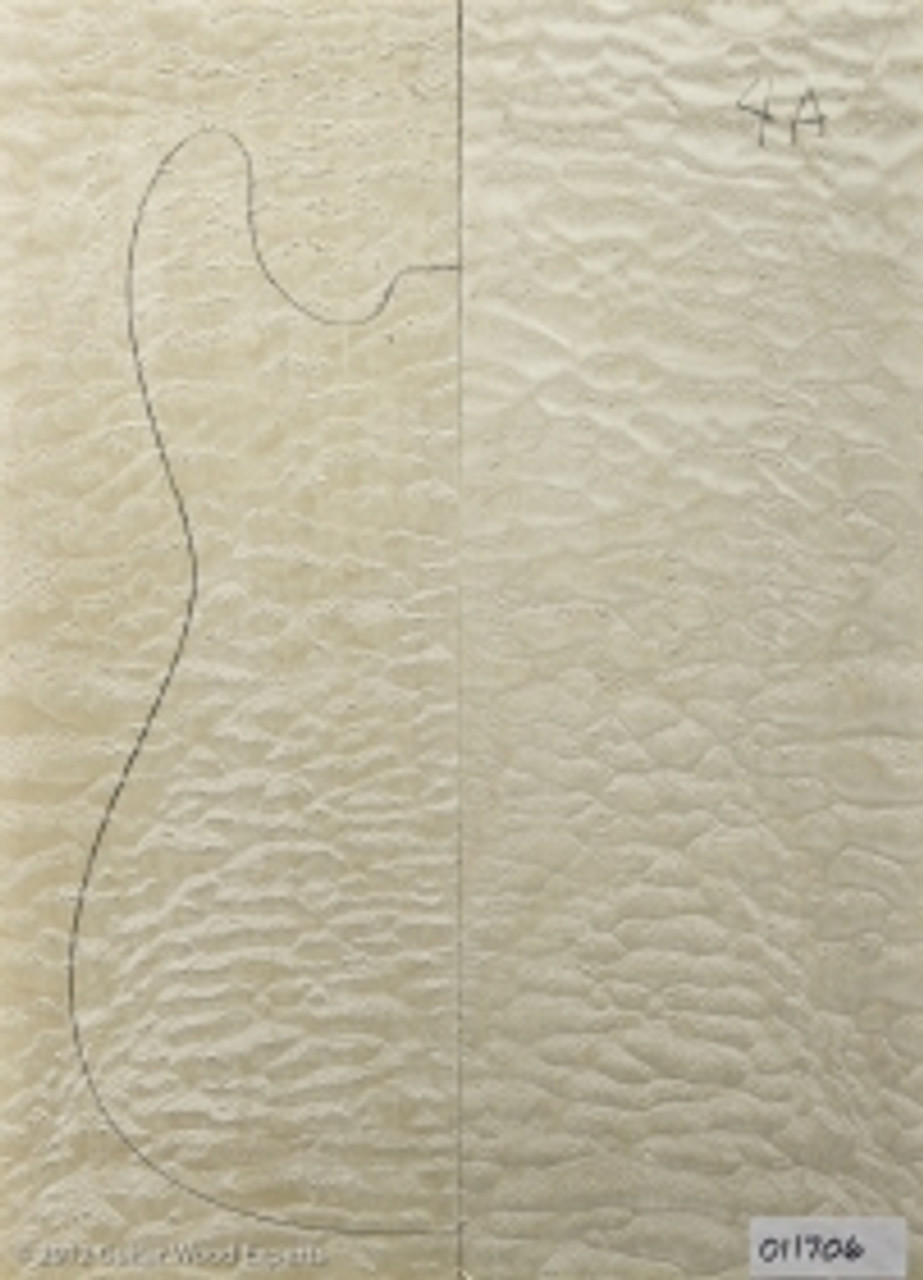 4A Carve Top Quilt Maple Top Wood
