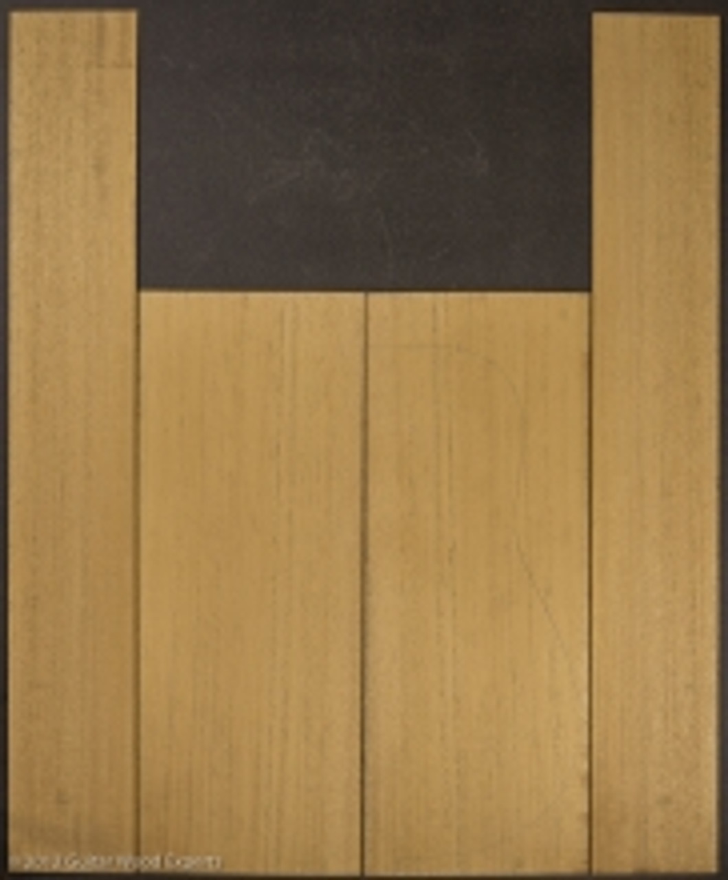 Genuine Mahogany Back and Side Sets
