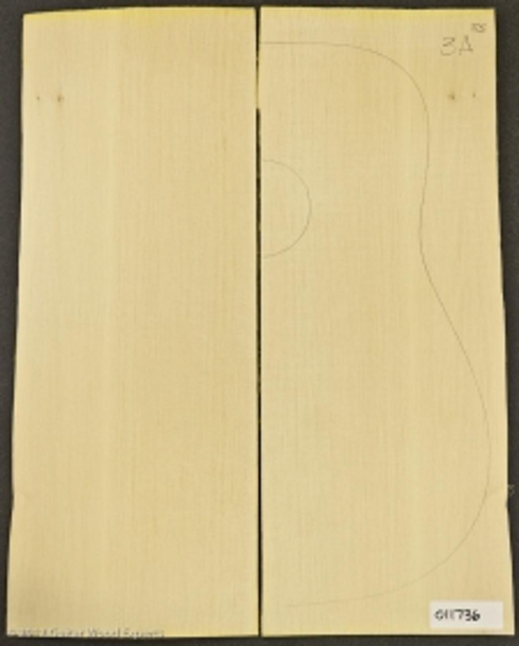 3A Sitka Spruce Soundboard