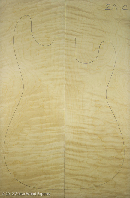 2A Flame Maple Carve Top