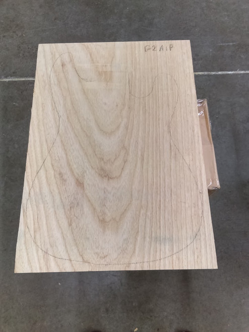 Swamp Ash 2a 1 piece Body Blank