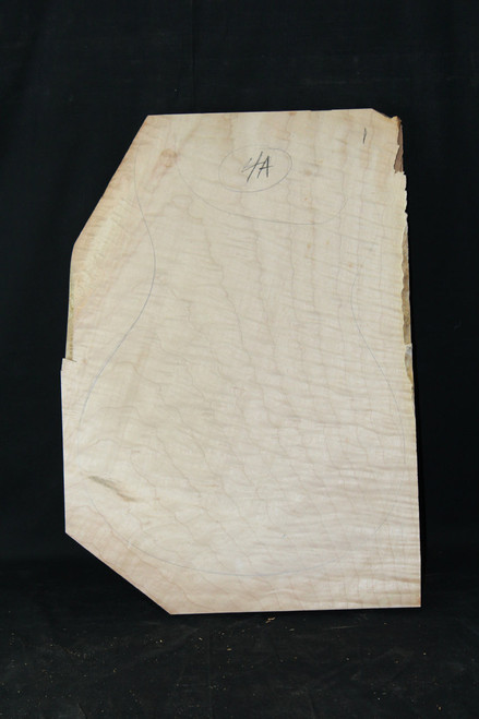 "4a Flame Maple ""Slab"" #1"