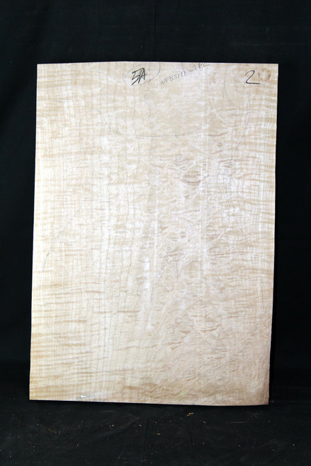 "4a Flame Maple ""Slab"" #2"