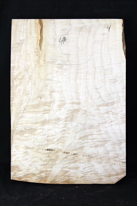 "4a Flame Maple ""Slab"" #4"