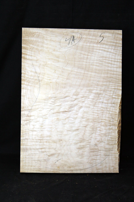 "4a Flame Maple ""Slab"" #5"