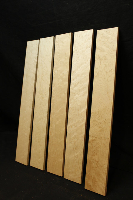 Curly Maple Birdseye Fretboards