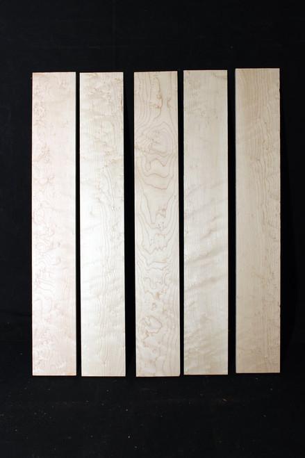 Birdseye Maple Fretboard, Medium Grade