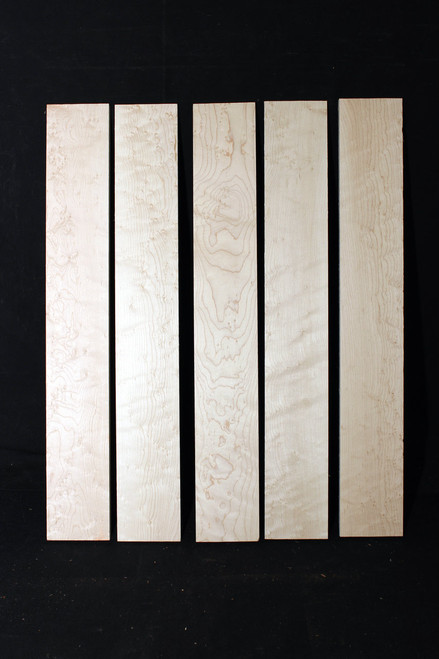 Birdseye Maple Fretboard, Medium Grade