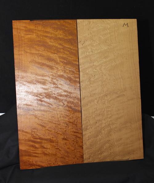 Birdseye Maple Drop Top, Medium Grade, Roasted
