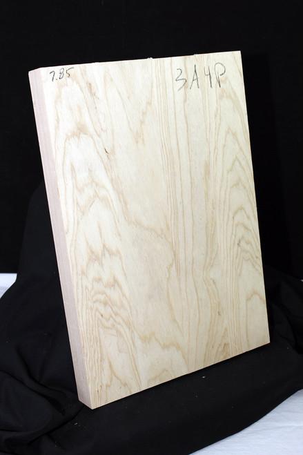Ash Body Blank, 3a 4 piece natural