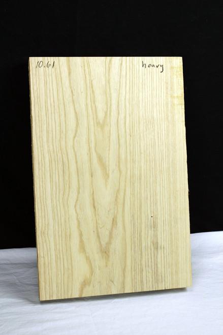 Eco-Recovery: Narrow Ash Body Blank, Heavy 1piece, Natural