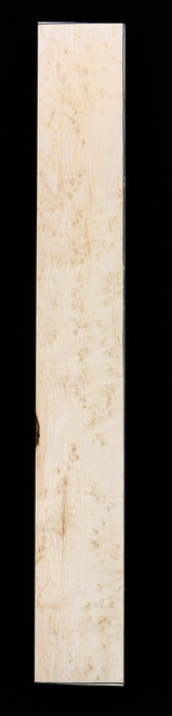 Birdseye Maple Guitar Neck Blank.  Medium Grade Natural