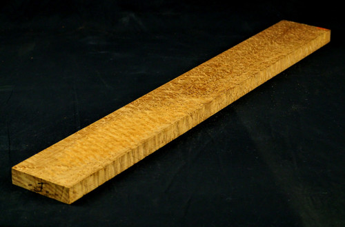BE Maple Guitar Neck Blank.  Intense Grade Roasted