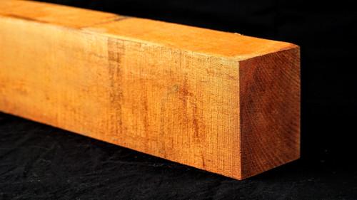 "C grade Honduran Mahogany neck blank. 3.25"" x 4.25"" x 27"".   2.7 lbs/bf to 3.2 lbs/bf"