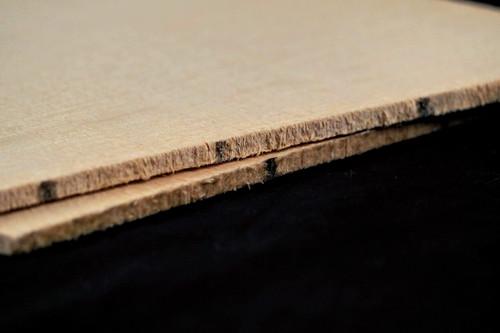 Small pattern Sitka Spruce soundboard