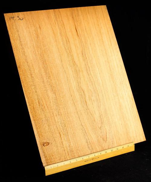 Ultra-Lightweight 1 Piece Honduran Mahogany Body blank,  <2.5 lbs/bf