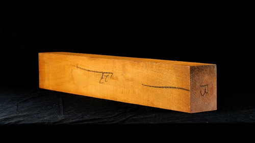 "B grade Honduran Mahogany neck blank. 3.25"" x 4.25"" x 27"".   2.7 lbs/bf to 3.2 lbs/bf"