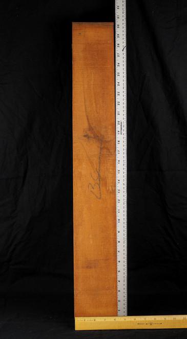 "Kinetic Response grade Honduran Mahogany neck blank. 3.25"" x 4.25"" x 27"".  3.2+ lbs/bf"