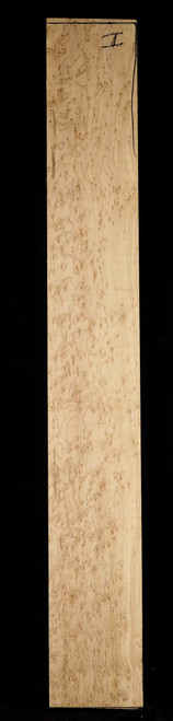 Bridseye Maple Neck, Intense Grade