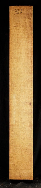 """Lightweight Honduran Mahogany neck blank. 4.25"""" x 4.25"""" x 31"""".   2.5 lbs/bf to 2.7 lbs/bf"""