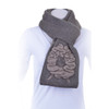McDonald - Possum & Merino Scarf with Woolly Sheep