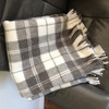Town & Country 'Natural' Wool Tartan Picnic Rug