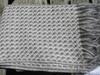 Stansborough Kauri Light Grey Woven Wool Throw