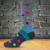 Norsewear Merino Dots and Stripes Monopoly Socks