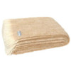 Windermere Natural Brushed Alpaca Throw - Sand