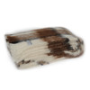 Windermere Natural Brushed Alpaca Throw - Apache