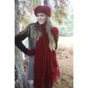 Lothlorian - Mohair Lace Knit Beret