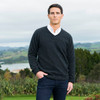 Koru Merino - Possum V-Neck Sweater