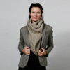 Possumdown Merino - Possum Cable Twist Scarf