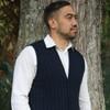 Lothlorian Merino - Possum Men's Rib Button Vest