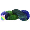 Merino - Possum 6 Ply /Ultra Fine 8 Ply Painted Yarn - Blue Mountains
