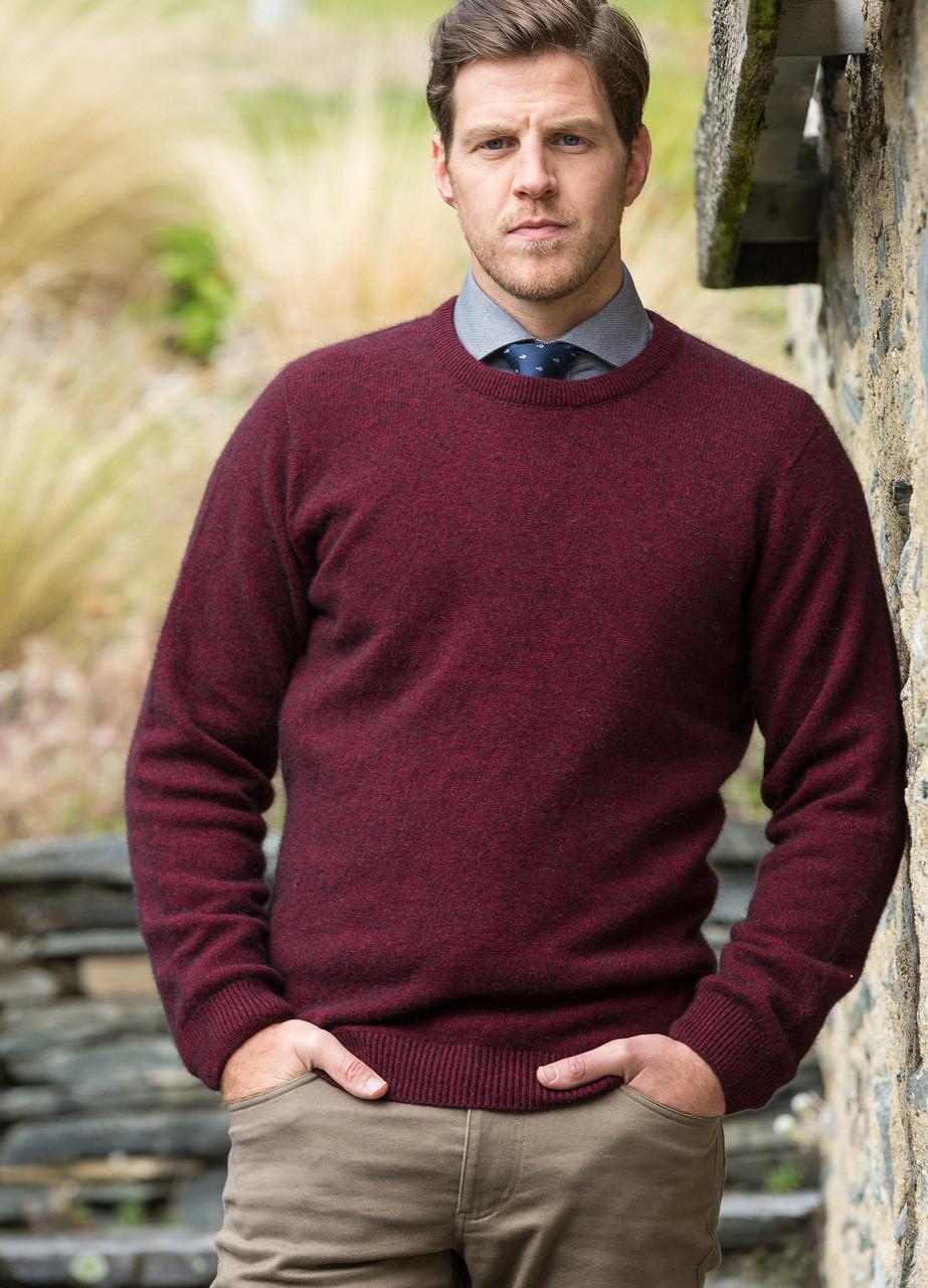 Noble Wilde , Merino \u0026 Possum Cambridge Crew Sweater