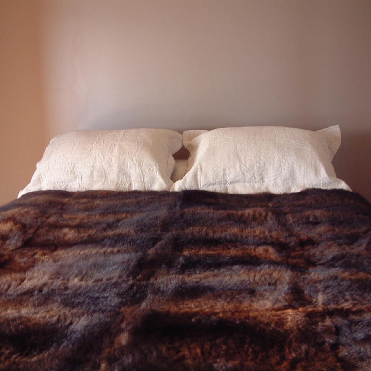 d0a553d13cd Mooneys - 40 Skin   Possum Fur Throw Quilt - The Tin Shed