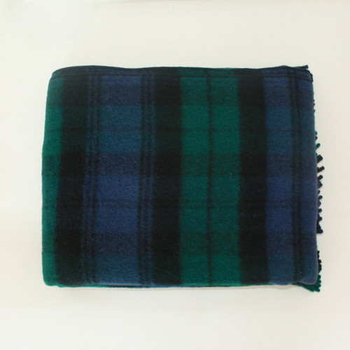 Town & Country 'Black Watch' Wool Tartan Picnic Rug