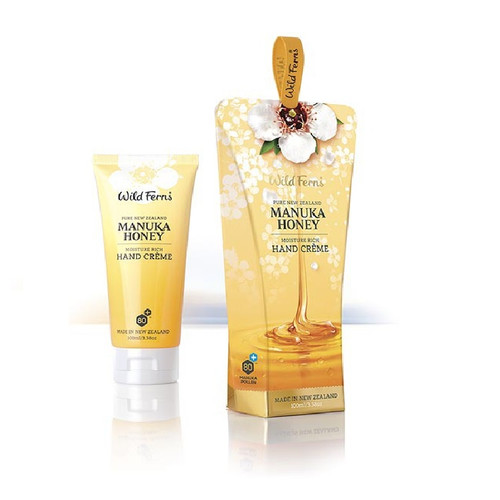 Wild Ferns - Manuka Honey Moisture Rich Hand Creme