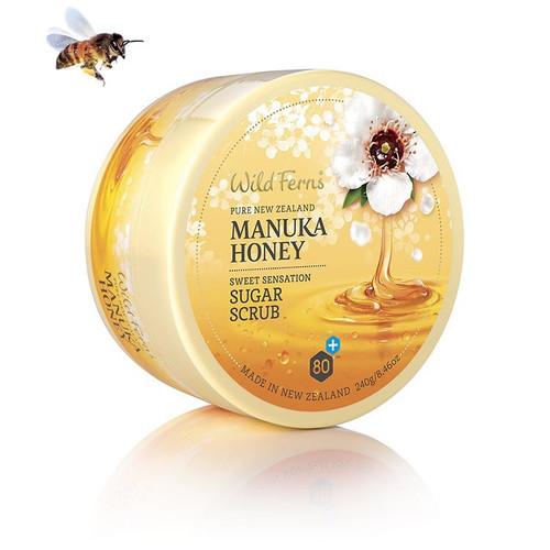 Wild Ferns Manuka Honey Sweet Sensation Sugar Scrub