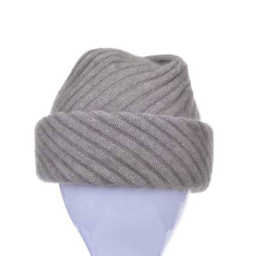 3a044012e23 McDonald - Possum   Merino Rib Hat with Pleated Top - The Tin Shed
