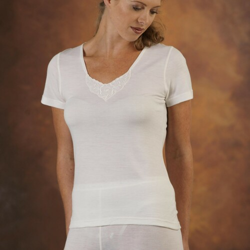 Supreme Merino Wool Short Sleeve Spencer